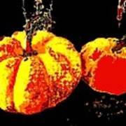 Sonic Pumpkins Poster