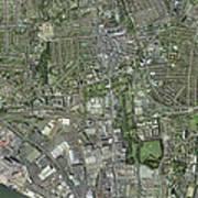 Southampton,uk, Aerial Image Poster