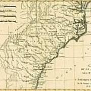 Southeast Coast Of America Poster