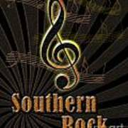 Southern Rock Music Poster Poster