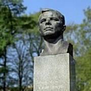 Soviet Monument To Yuri Gagarin Poster by Detlev Van Ravenswaay