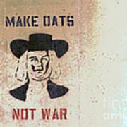 Sowing Oats Poster by Joe Jake Pratt