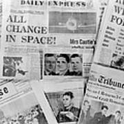 Soyuz Docking Mission, News Reports, 1969 Poster