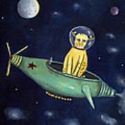 Space Bob Poster