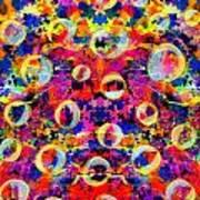 Space Bubbles Poster