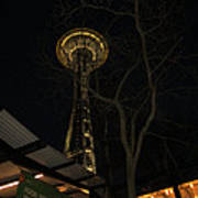 Space Needle Entertainment Poster