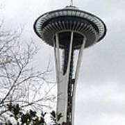 Space Needle In Seattle Poster