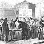 Spain: Abolitionists, 1869 Poster