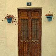 Spanish Doorstep Poster