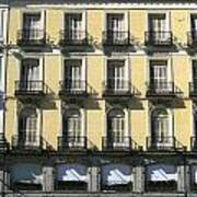 Spanish Facade Madrid Poster