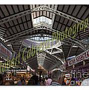 Spanish Market Poster by Robert Cabrera