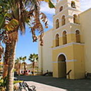 Spanish Mission In Todos Santos Poster