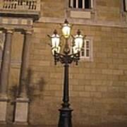 Spanish Street Light Poster