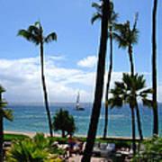 Sparkling Sea At Kaanapali Maui Poster