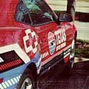 Speedway Camaro II Poster by Malania Hammer