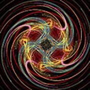 Spin Fractal Poster