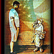 Spirit Of Freedom - Soldier And Son Poster