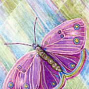 Spiritual Butterfly Poster