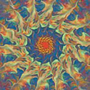 Spiritual Pinwheel Poster