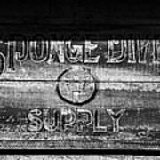 Sponge Diver Supply Poster