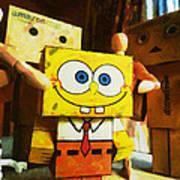 Spongebob Always Loves The Group Hugs Poster
