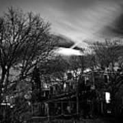 Spooky Night Poster by Ken Stachnik