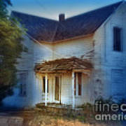 Spooky Old House Poster