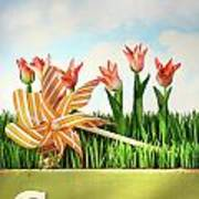 Springtime Fun Poster by Sandra Cunningham