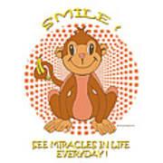 Spunky The Monkey Poster by John Keaton