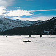 Squaw Valley Panoramic Poster