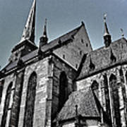 St. Bartholomew Cathedral - Pilsen Poster
