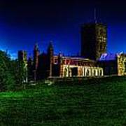 St Davids Cathedral Pembrokeshire Glow Poster