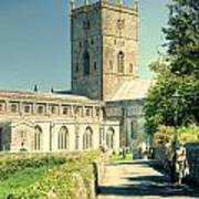 St Davids Cathedral Pembrokeshire Lomo Poster