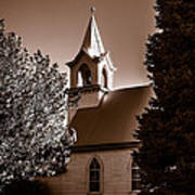St. John's Lutheran Church In The Trees Poster