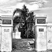 St Louis Cemetery Gate - New Orleans Poster