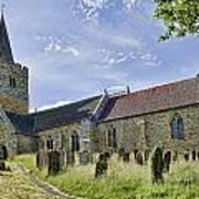 St Mary Lamberhurst Poster