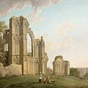 St Mary's Abbey -york Poster