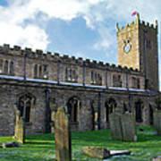 St Oswald's Church - Askrigg Poster