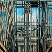 St Pauls Compressed Poster
