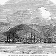 St. Thomas, 1844 Poster