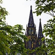 St Vitus Cathedral - Prague Poster