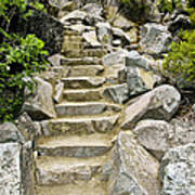 Staircase To Eagle Falls Lake Tahoe Poster