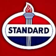 Standard Oil Sign Poster