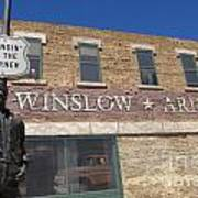 Standin On The Corner In Winslow Arizona Poster