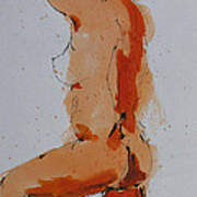 Standing Nude Poster