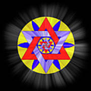 Star Of David Two Poster