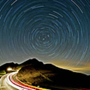 Star Trails Poster by Higrace Photo