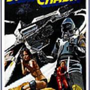 Starcrash, L-r Caroline Munro, Marjoe Poster by Everett