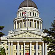 State Capitol Building Sacramento California Poster