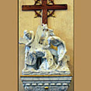Station Of The Cross 03 Poster